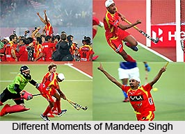 Mandeep Singh, Indian Hockey Player