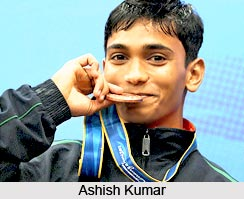 Ashish Kumar, Indian Gymnast