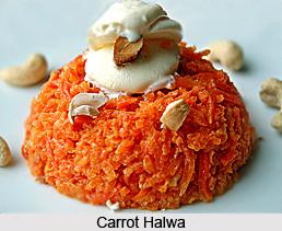 Carrot Halwa, Indian Dessert