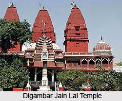 Digambar Jain Lal Temple, Chandni Chowk, Delhi
