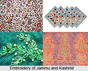 Embroidery of Jammu and Kashmir