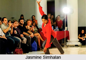 Jasmine Simhalan, Indian Dancer