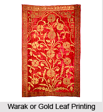 Warak or Gold Leaf Printing, Arts and Crafts in Rajasthan
