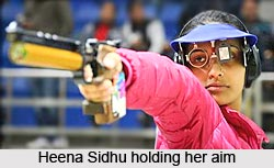 Heena Sidhu, Indian Athlete