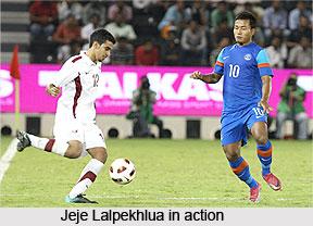 Jeje Lalpekhlua, Indian Football Player