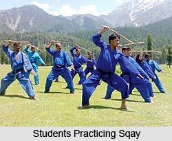 Sqay, Martial Art