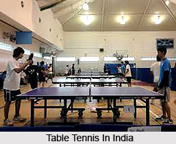 Table Tennis in India