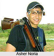 Asher Noria, Indian Athlete