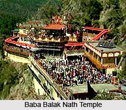Baba Balak Nath Temple, Hamirpur, Himachal Pradesh