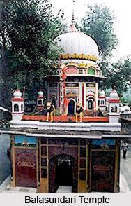 Balasundari Temple, Trilokpur, Sirmaur, Himachal Pradesh.