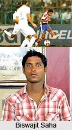 Biswajit Saha, Indian Football Player