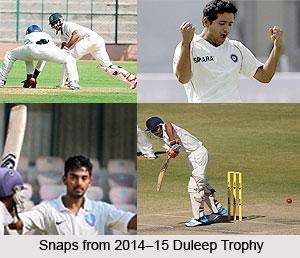 Duleep Trophy, 2014-15