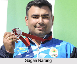 Gagan Narang, Indian Athlete