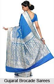 Gujarati Brocade Sarees, Sarees of West India