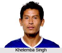 Khelemba Singh, India Football Player