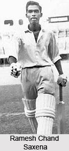 Ramesh Chand Saxena, Indian Cricket Player
