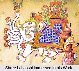 Shree Lal Joshi, Indian Painter