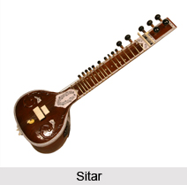 Sitar, Indian Musical Instrument