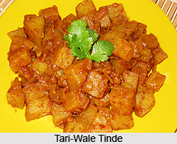 Tari-Wale Tinde, Indian Vegetable Dish