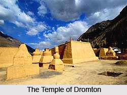 The Large Temple of Dromton, Tabo, Lahul and Spiti, Himachal Pradesh