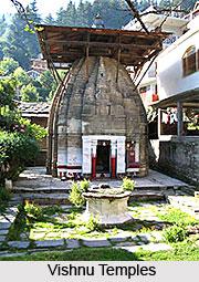 Vishnu Temples, Naggar-Manali, Kullu, Himachal Pradesh