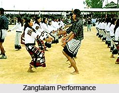 Zangtalam, Folk Dance of Mizoram