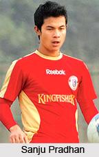 Sanju Pradhan, Indian Football Player