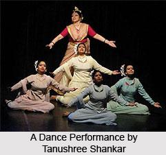 Tanushree Shankar Dance Company, Indian Dance Academy