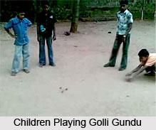Golli Gundu, Indian Traditional Game
