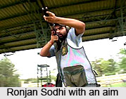 Ronjan Sodhi, Indian Athlete