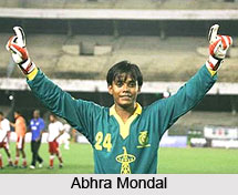 Abhra Mondal, Indian Football Player