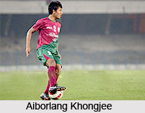 Aiborlang Khongjee, Indian Football Player