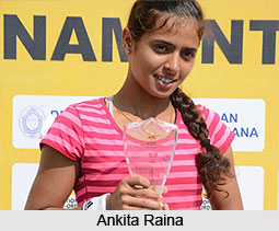 Ankita Raina, Indian Tennis Player
