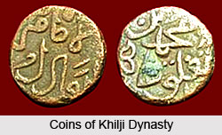 Coins of Khilji Dynasty