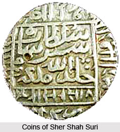 Coins of Sher Shah Suri