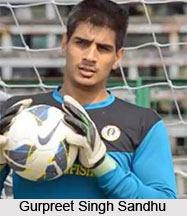 Gurpreet Singh Sandhu, Indian Football Player