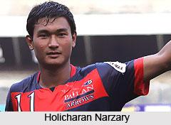 Holicharan Narzary, Indian Football Player