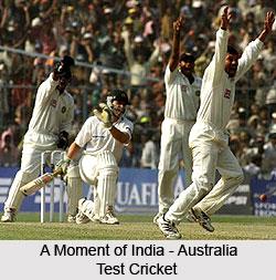 India - Australia  Test Cricket Series, 2001