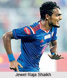 Jewel Raja Shaikh, Indian Football Player