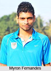Myron Fernandes, Indian Football Player