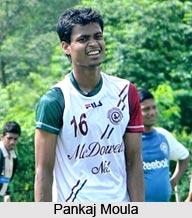Pankaj Moula, Indian Football Player