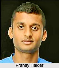 Pronay Halder, Indian Football Player