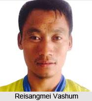 Reisangmei Vashum, Indian Football Player