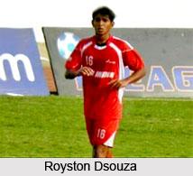 Royston Dsouza, Indian Football Player