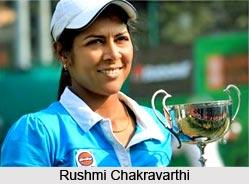 Rushmi Chakravarthi, Indian Tennis Player