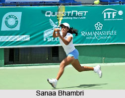Sanaa Bhambri, Indian Tennis Player