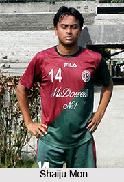 Shaiju Mon, Indian Football Player