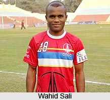 Wahid Sali, Indian Football Player