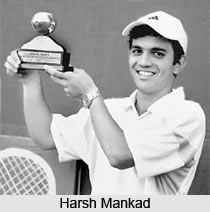 Harsh Mankad, Indian Tennis Player