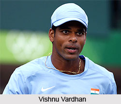 Vishnu Vardhan, Indian Tennis Player